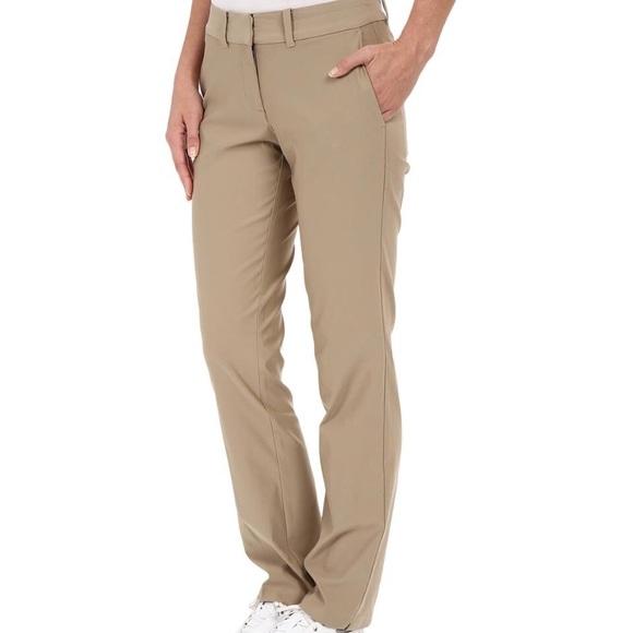 nike dri fit golf pants womens